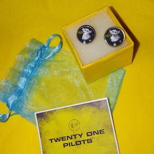 Twenty One Pilots Ned Trench Earrings